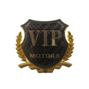 金属立体车贴VIP贴标汽车改装车标个性侧标车窗装饰贴汽车用品