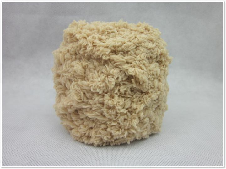 大嘴猴阿狸马甲/珊瑚绒毛线绒绒线宝宝毛线围巾毛线毛巾线 送教材