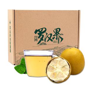 龙脊新鲜低温脱水黄金罗汉果干果大果 桂林特产罗汉果茶花茶袋装