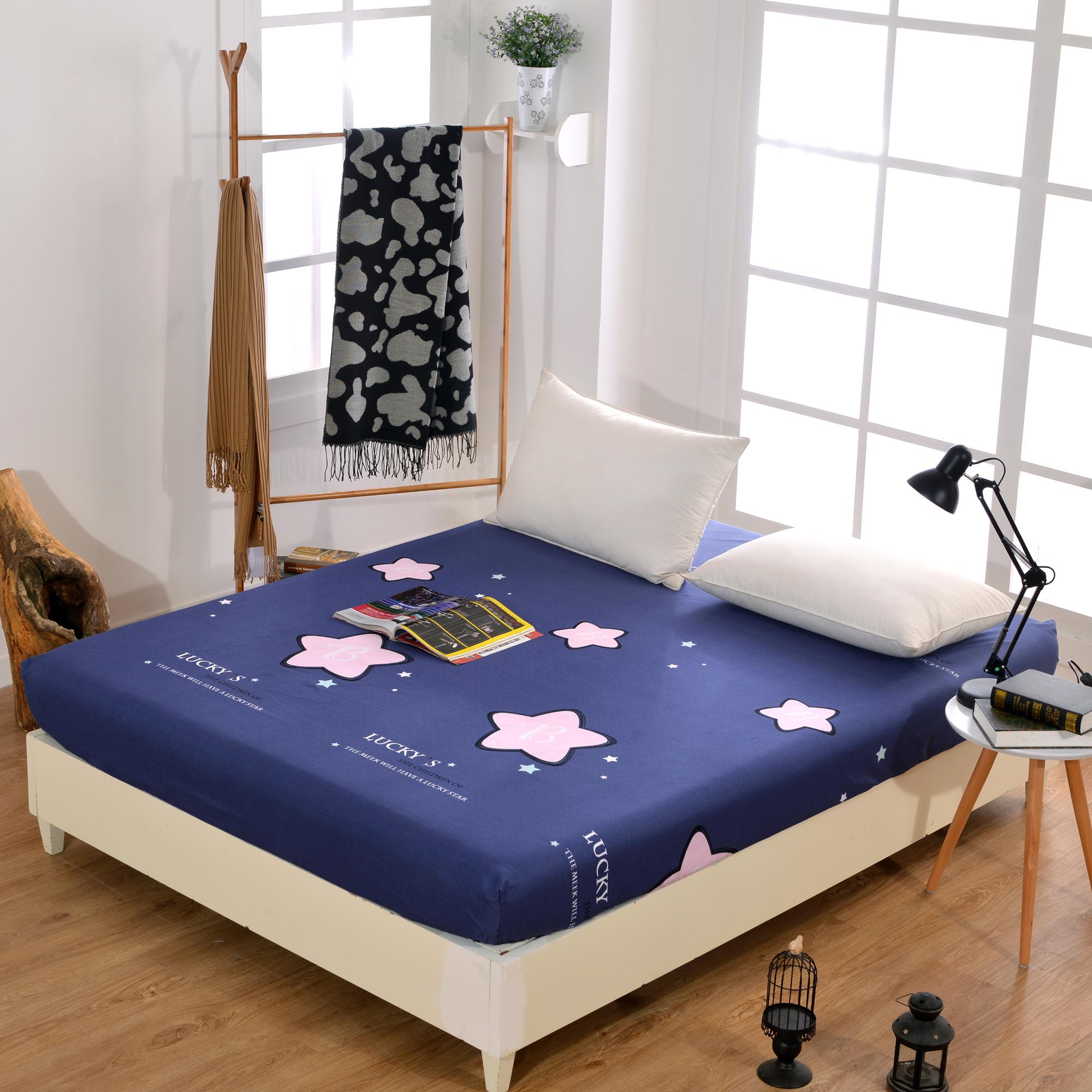 1.8米床笠单件席梦思保护套 防尘罩 床罩1.5米床垫套全包 薄 棕垫
