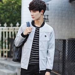春秋季韩版潮文艺青年帅气休闲夹克