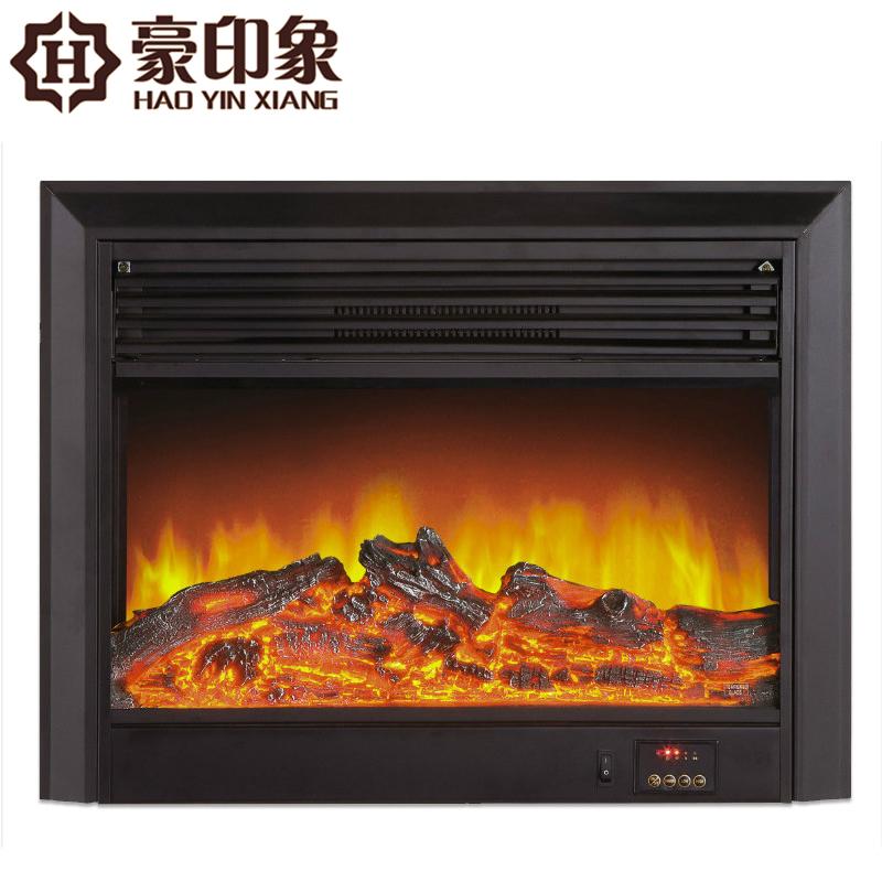 豪印象 定制电壁炉芯 取暖发热器 嵌入式LED仿真火焰装饰炉芯