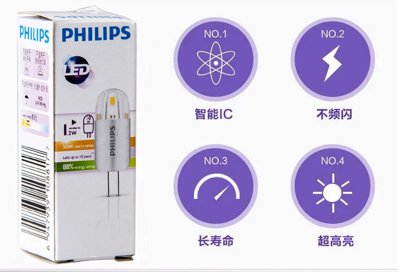 LED-светильник Philips  Led G4 1.2W 12V - 17