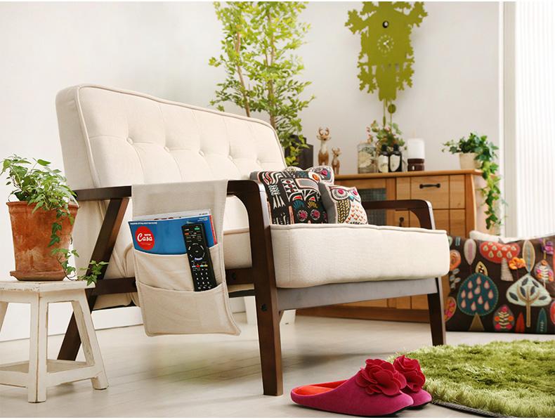 日式布艺沙发贵妃组合全拆洗小户型双人三人位布沙发L型转角1.5米图片