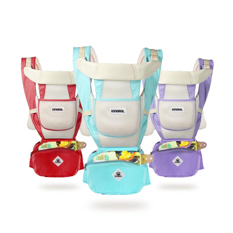 婴儿背带新生儿宝宝前横抱式小孩抱娃神器腰凳坐登多功能四季通用
