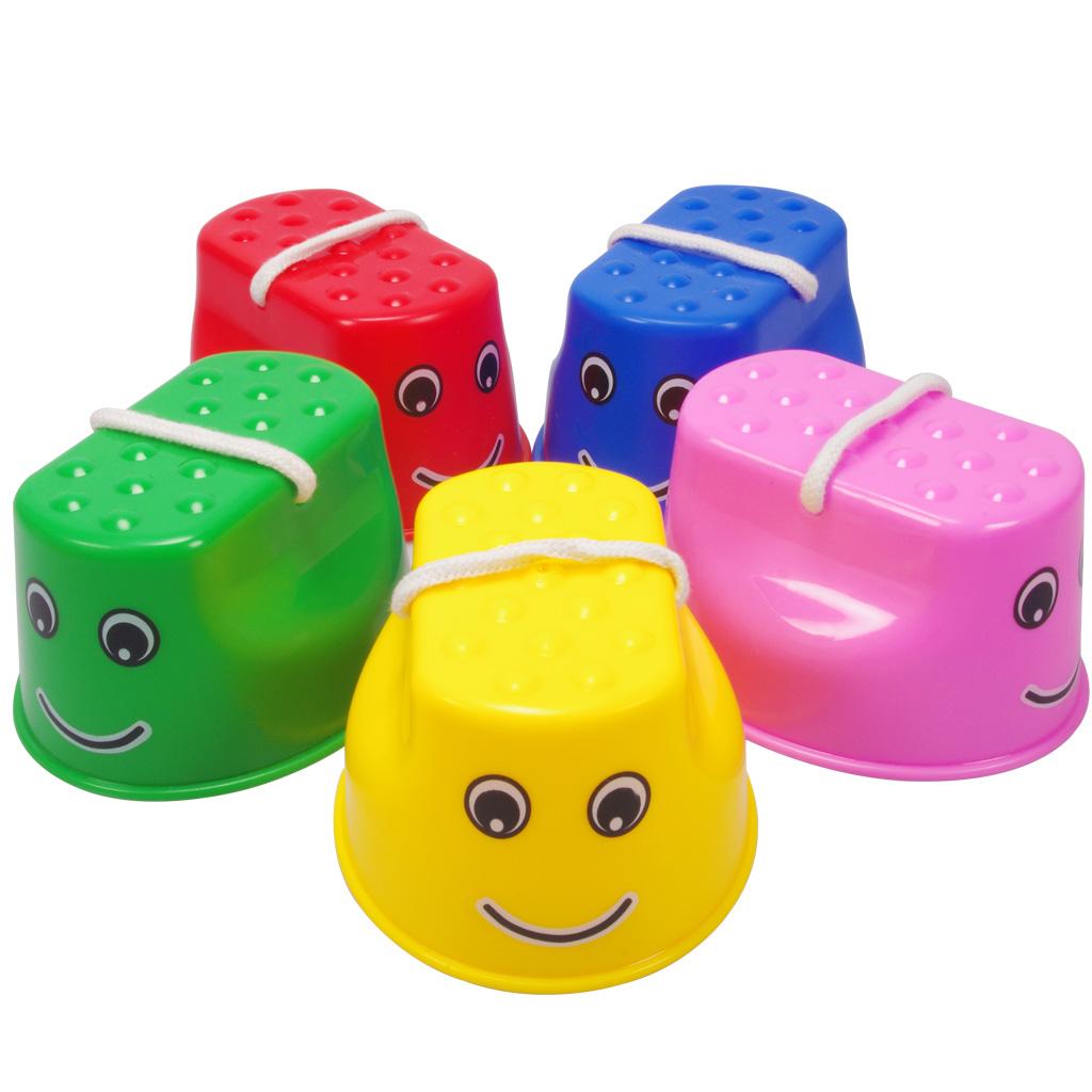 儿童感统训练平衡器材户外运动健身小玩具幼儿园游戏体育道具高跷