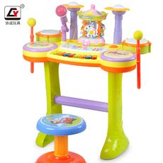 Детская барабанная установка Yu 6028/6030/6032 1-3-6
