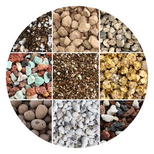 多肉铺面石专用营养土兰花种植蛭石陶粒麦饭石珍珠岩火山石颗粒土