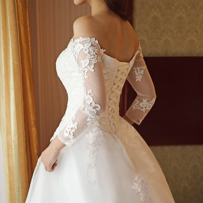 Wedding dress hs1830 2017