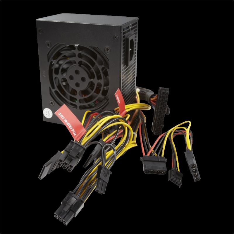 首席玩家额定400W小电源准银牌SFX台式机箱电脑电源 ITX电源