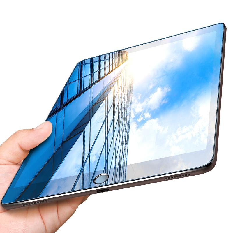 ipad2018钢化膜2017新款苹果Air2防抗蓝光护眼pro9.7英寸A1822平板A1893电脑A1474全屏ipda保护ipad4-5-6贴膜