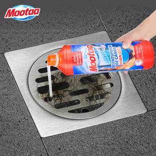 Mootaa通下水道管道疏通剂神器强力厨房油污厕所反味马桶堵塞除臭