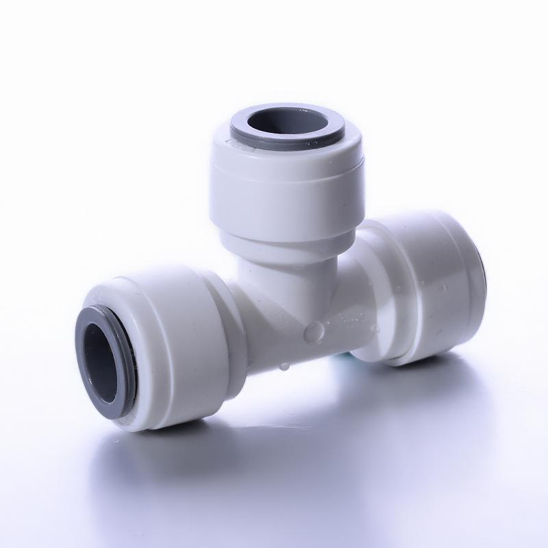 天一金牛 净水机器三通快接头 pe管2分 3分快插头过滤器 接头配件