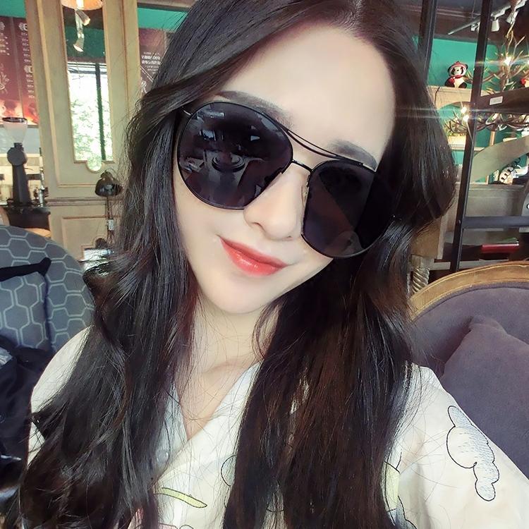蒙口Moncler新款眼睛网红个性透明太阳镜女眼镜潮款墨镜NZT488