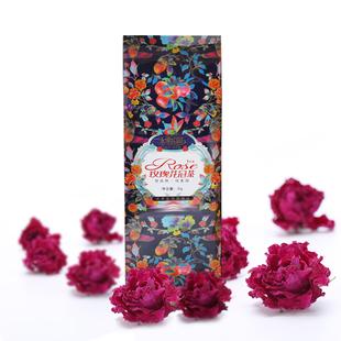 玫瑰花茶 干玫瑰平阴玫瑰花茶干玫瑰花瓣泡水食用特级玫瑰花冠茶