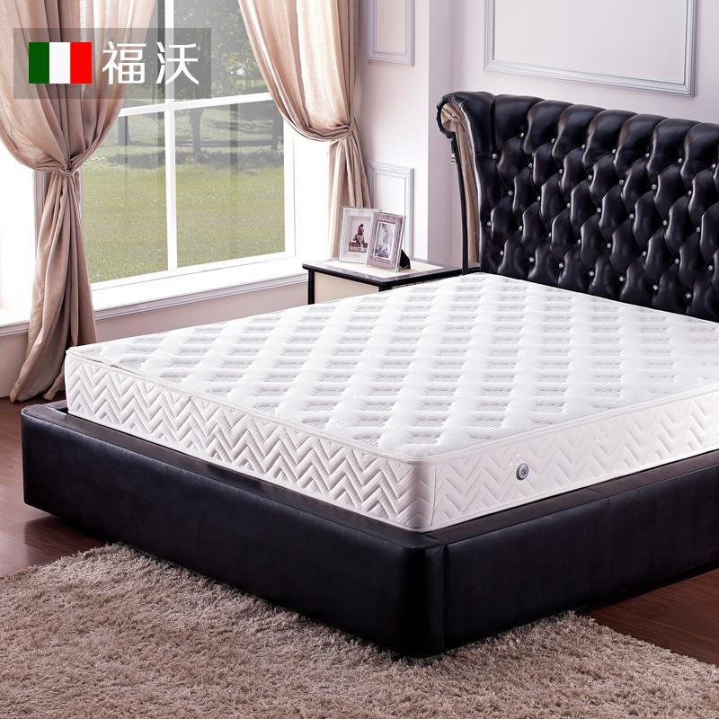 福沃天然山棕床垫弹簧硬床垫席梦思床垫3e椰棕双人床垫1.5m1.8m