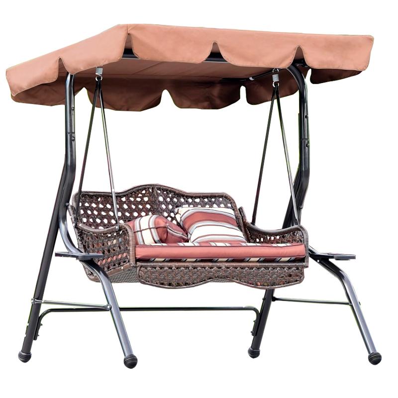 Outdoor Swing Cradle Chair Indoor Two Adult Balcony Swing Chair