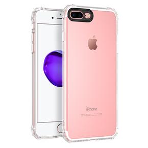 浩酷 苹果7手机壳透明防摔全包硅胶保护套