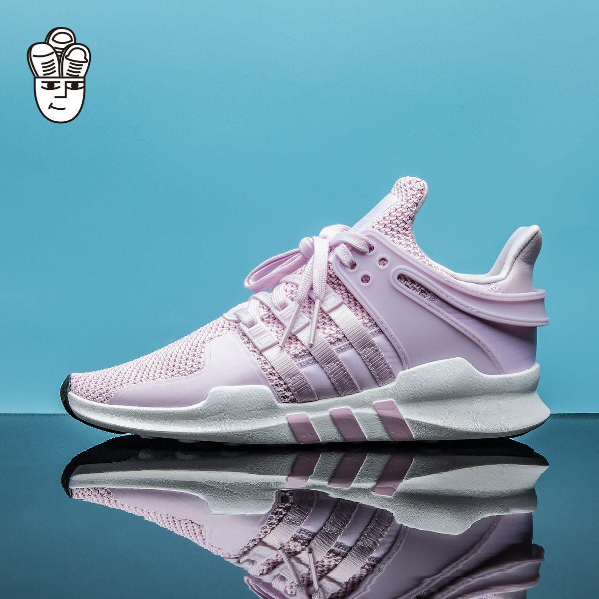 Adidas EQT Support ADV Snake 三叶草男鞋女鞋GS跑步鞋 运动鞋
