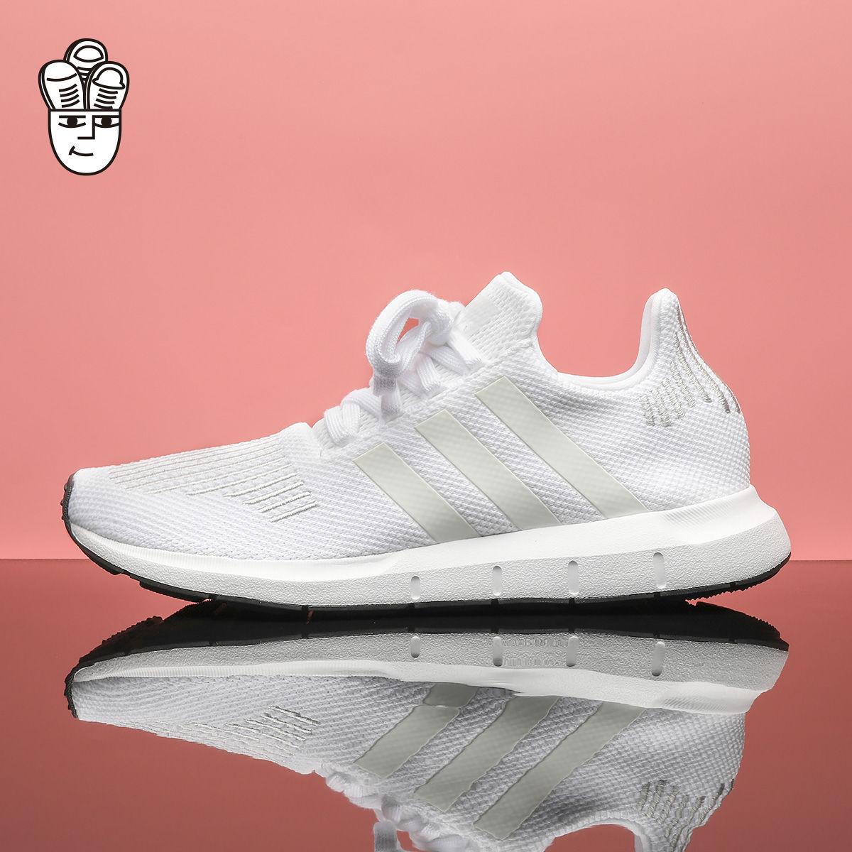 Adidas Swift Run 阿迪达斯男鞋 透气轻便跑步鞋 运动休闲鞋