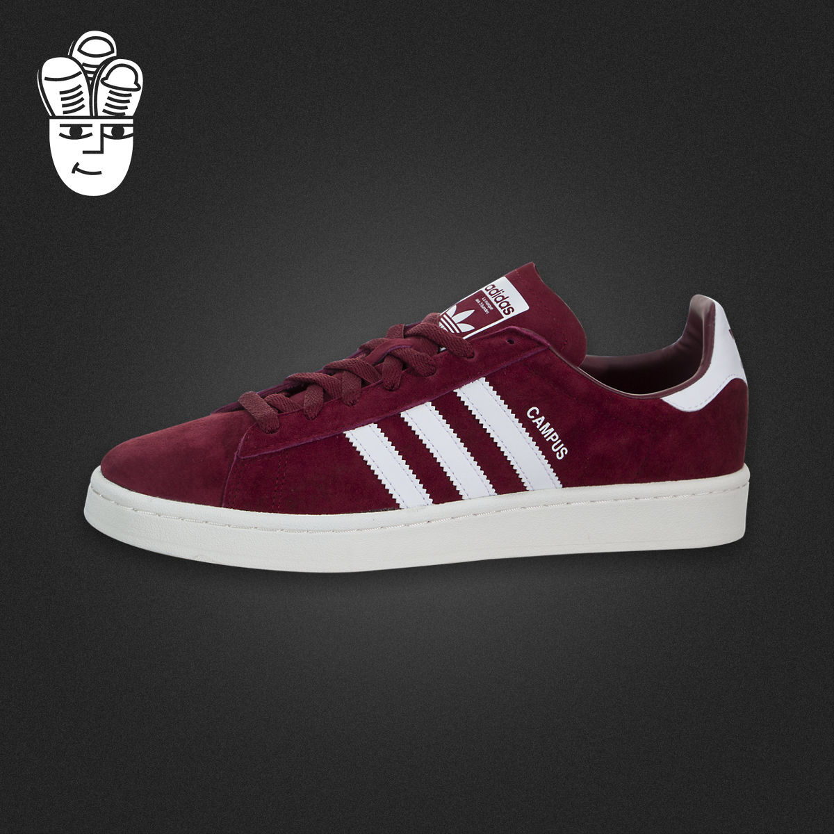 Adidas Campus 阿迪达斯男鞋 时尚三叶草板鞋 运动休闲鞋