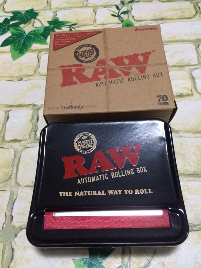 Машинка для скручивания сигарет Raw  70MM 6-8MM
