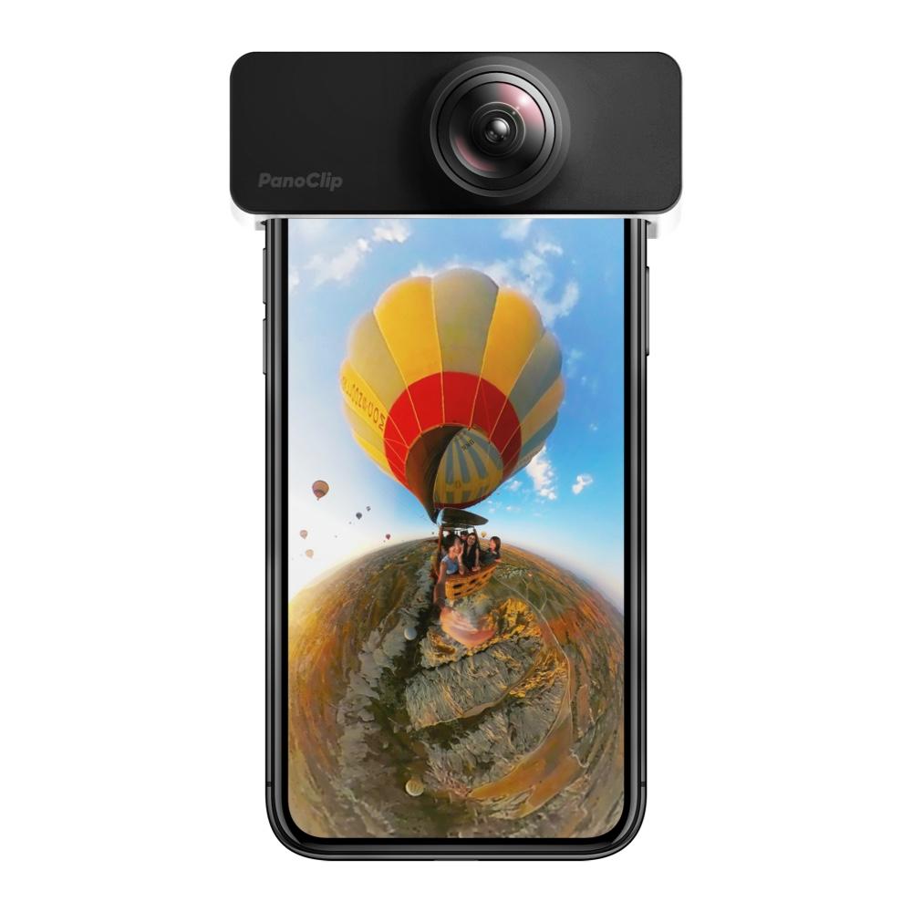 PanoClip全景手机镜头360度苹果自拍照像短视频抖音神器道具iphone超广角微距鱼眼套装通用高清X外置摄像头