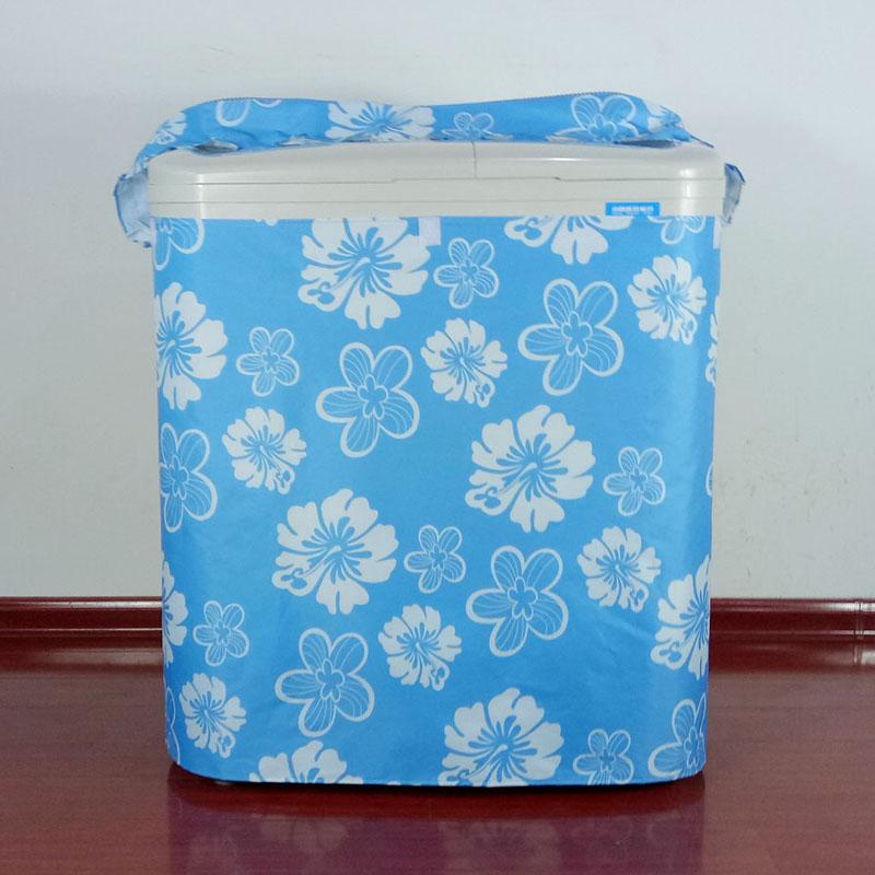 小天鹅美的奥克斯爱情公寓海尔双缸洗衣机罩双桶半自动防水防晒套