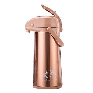 升级五月花保温壶家用气压式热水瓶不锈钢暖瓶学生宿舍水壶保温瓶