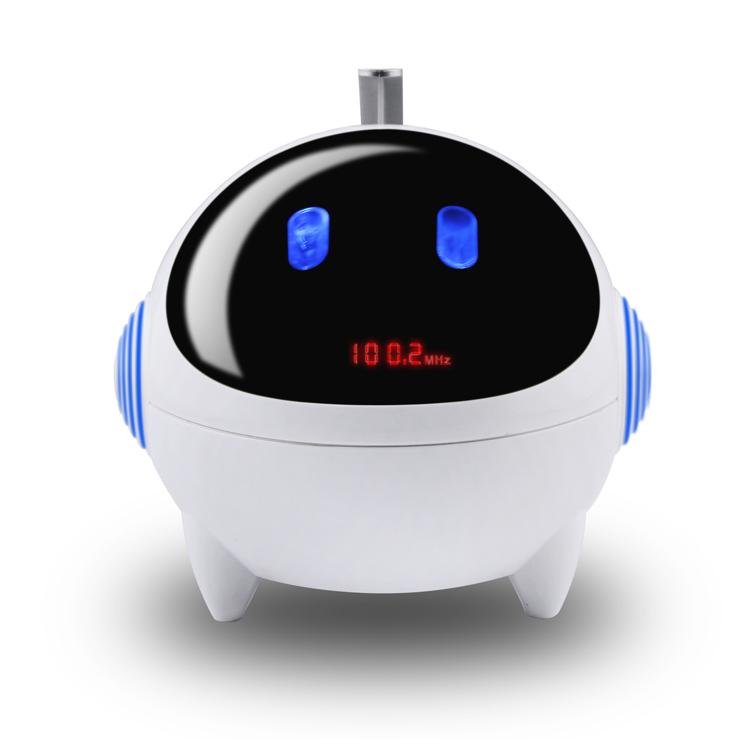 朗技 迷你音响便携式低音炮插卡小音箱胎教音乐播放器外放MP3U盘