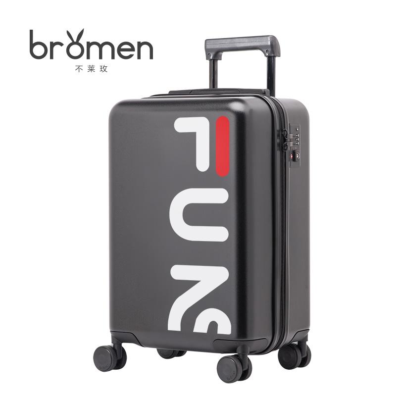 不莱玫拉杆箱潮20寸登机箱万向轮韩版行李箱女24寸旅行箱男密码箱