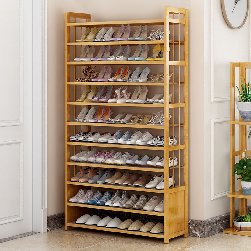 Shoe rack multi-layer simple household dust cloth shoe rack modern simple economical shoe cabinet dormitory door small shoes shelf