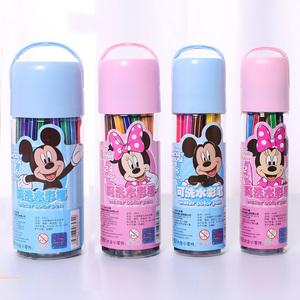 品牌水彩笔套装幼儿园t可水洗儿童水彩笔24 36色画画笔彩色笔