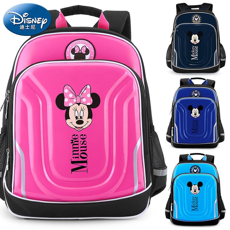 迪士尼书包小学生儿童一二年级男三四米奇米妮女米老鼠轻便双肩包