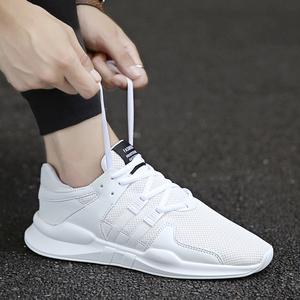 2018秋季新款网面透气运动鞋男潮流学生板鞋韩版小白鞋男潮鞋10