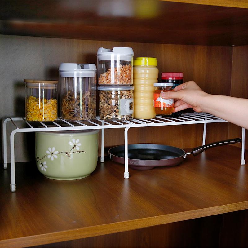 Kitchen Tools Retractable Shelf Multi-functional Cabinet Rack 295458