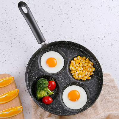 Kitchen Tool Non-Stick Frying Pan Four Holes Pan 800957