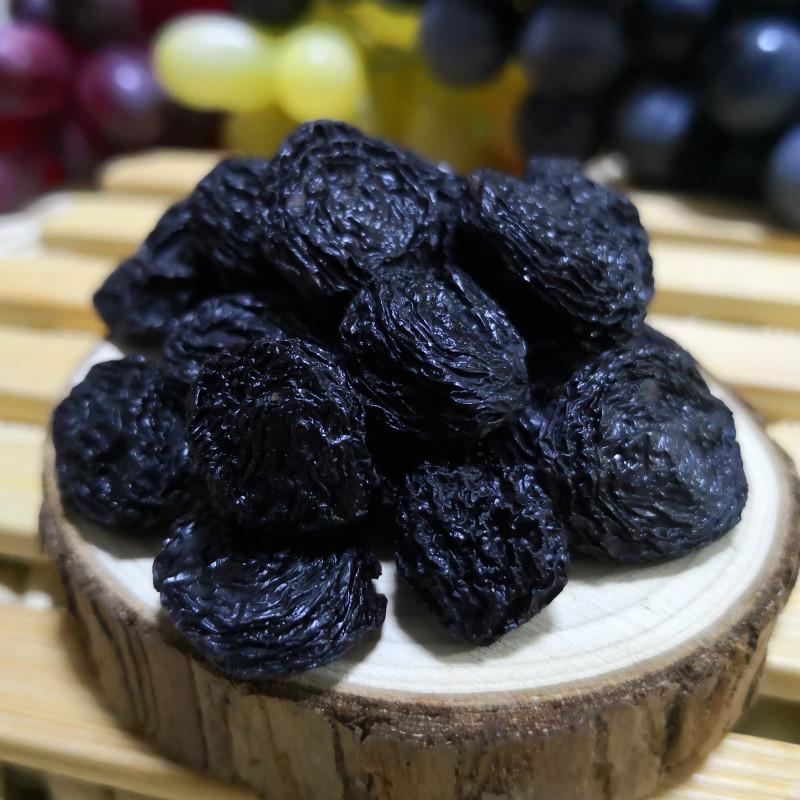 19新货新疆玫瑰香夏黑葡萄干超大颗粒免洗吐鲁番特产非黑加仑零食
