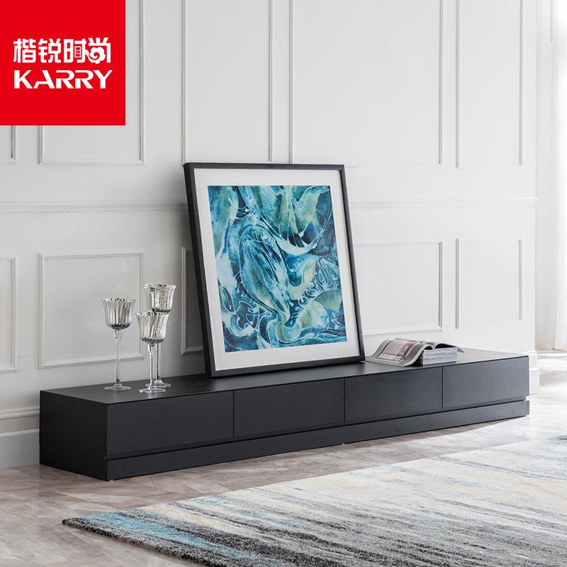 创意北欧电视柜茶几组合家具定制 简约现代时尚多功能客厅高地柜
