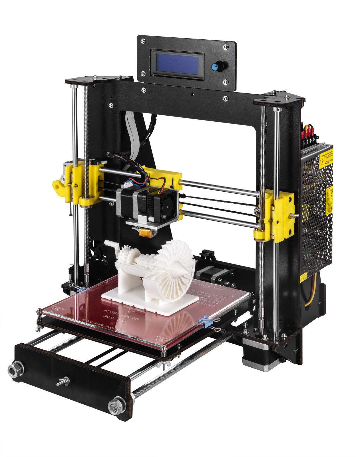 西通CTC DIY 3D打印机LED显示屏 教育大尺寸桌面型家用3D打印机儿童 DIY套件3D立体模型 PLA-ABS耗材 1年保修