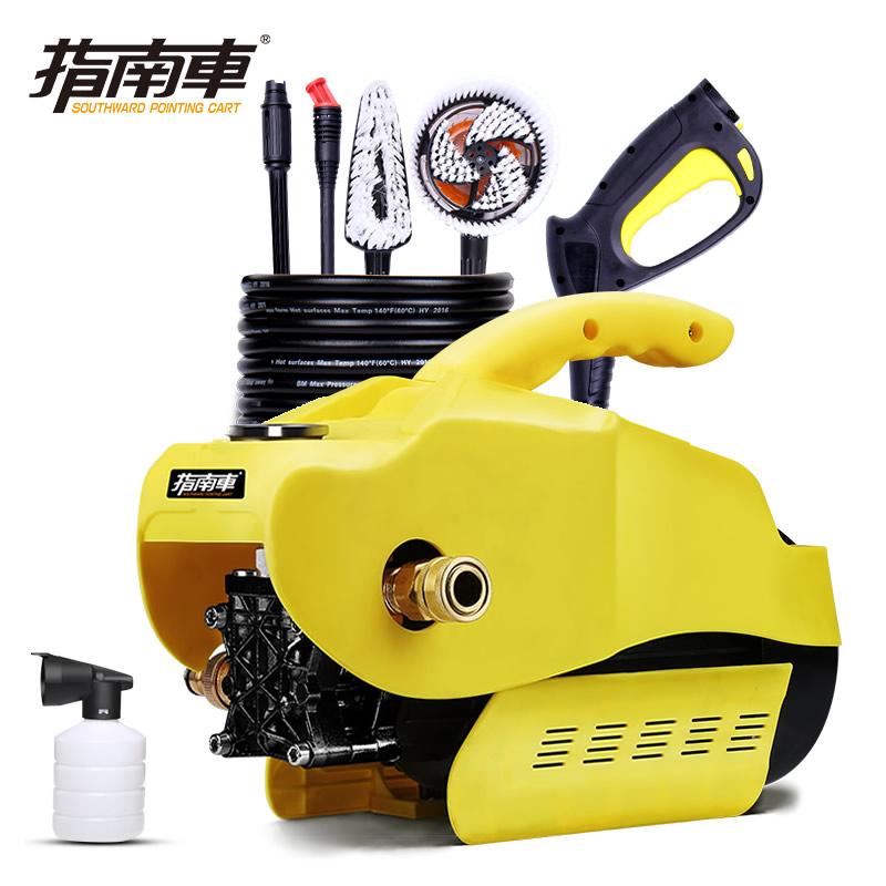 指南车洗车机洗车泵高压220v家用洗车器清洗机刷车泵电动水枪