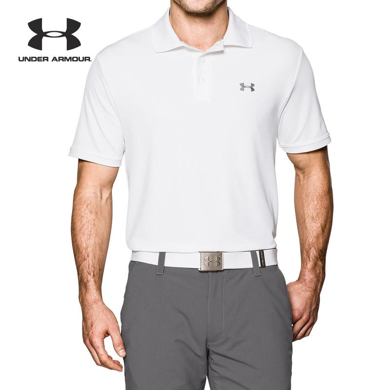 Under Armour 安德玛 UA男子 高尔夫短袖运动Polo衫-1242755