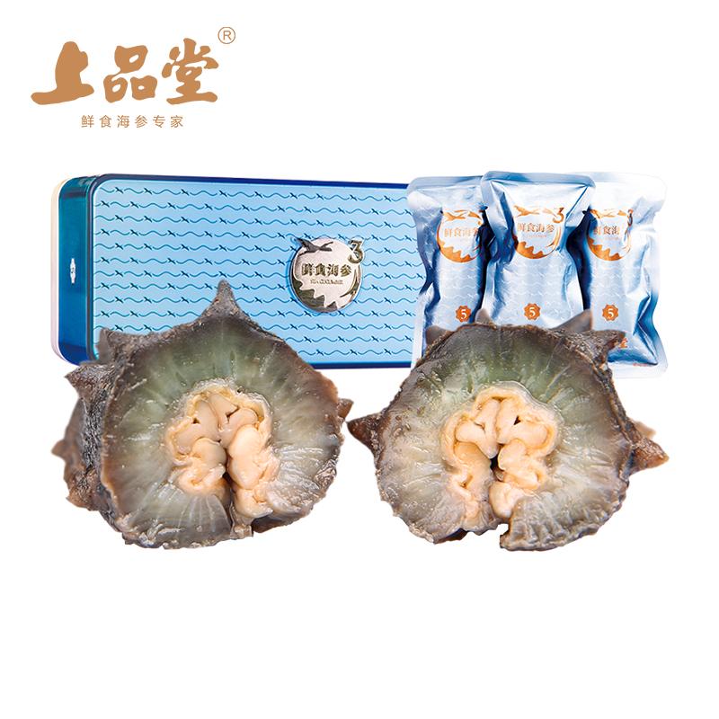 上品堂鲜食即食海参10只有机新鲜冷冻大连原产海参辽刺参鲜活海参