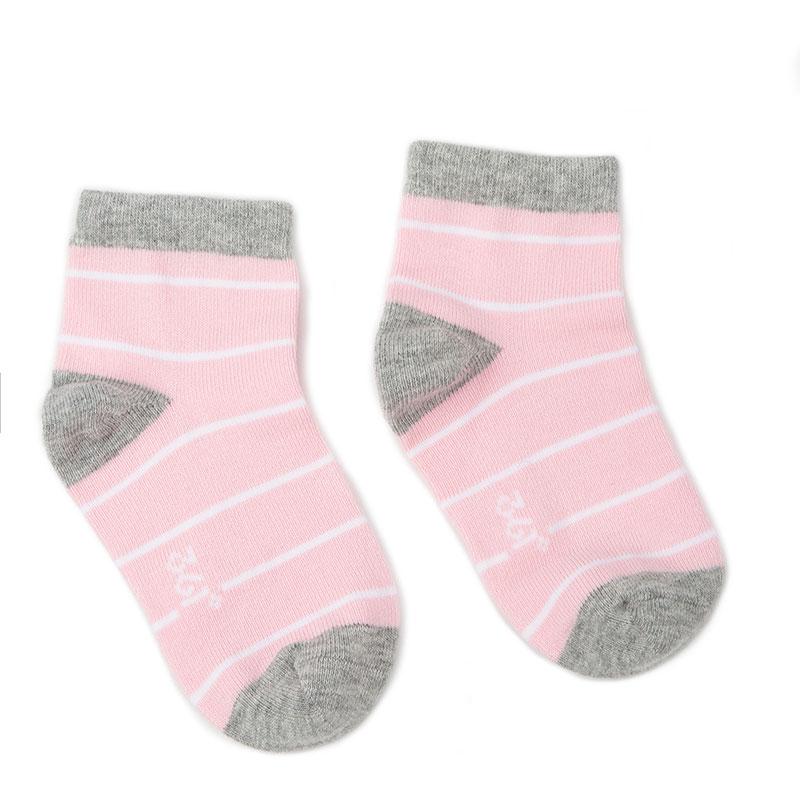 361度儿童袜休闲亲子袜春秋季2019新款3双装儿童袜成人袜条纹袜R
