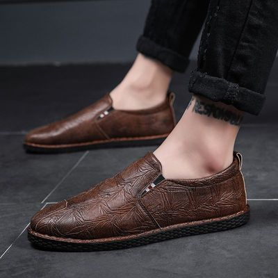 Men Fashion Leather Shoes Man Business Formal Shoes 694382