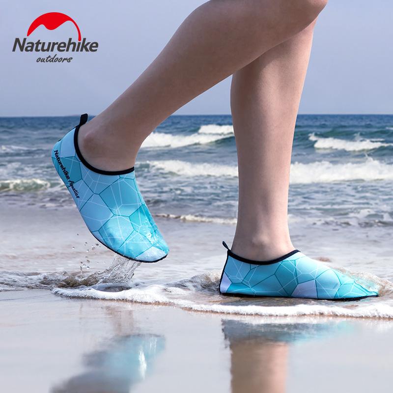 挪客沙滩鞋防滑男女赤足户外浮潜鞋潜水鞋沙滩袜儿童涉水鞋游泳鞋