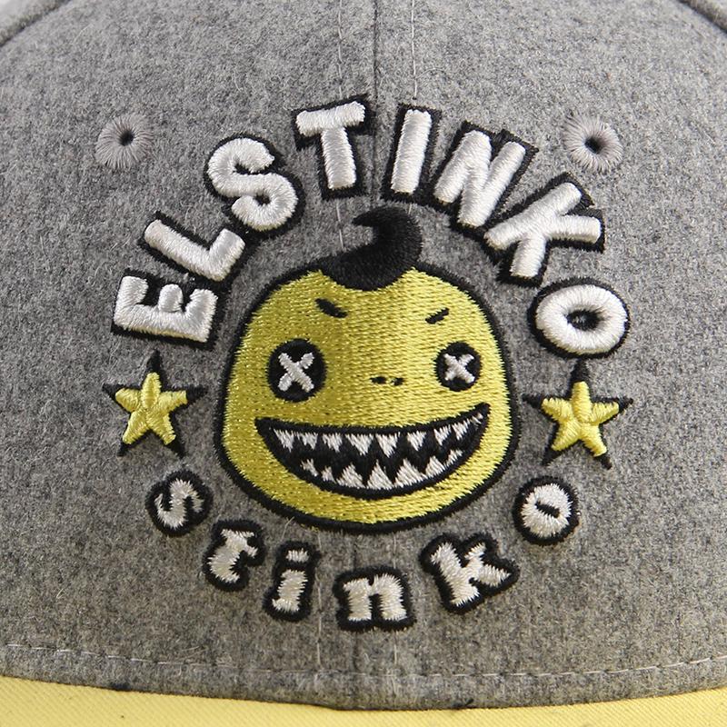 Hatson男帽女帽秋冬新款运动帽透气休闲棒球帽ELSSNI3603GY
