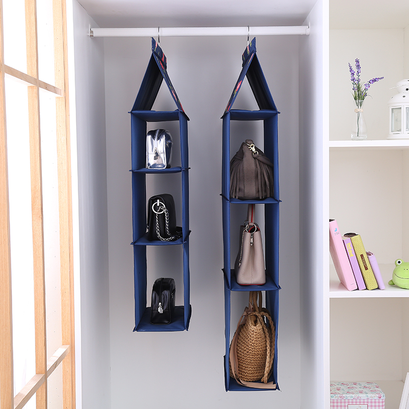 Loading Bag Hanging Storage Bag Hanging Dormitory Fabric Storage Bag Wall  Hanging Wardrobe Bag Shelf Home