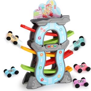 抖音网红儿童滑翔车轨道车男孩惯性小汽车赛车宝宝益智玩具车3岁