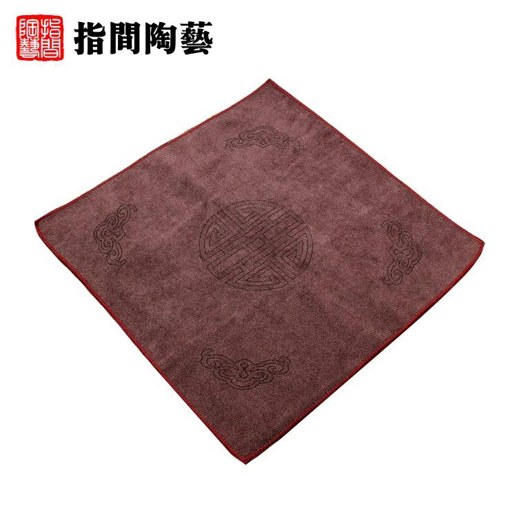 指间陶艺加厚茶巾CJ002
